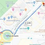 Map of our vape store in Barcelona